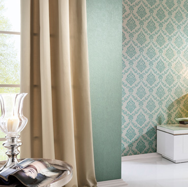 Fuggerhaus wallcoverings Romana, Honora and Phokas which are part of the collection Byzantium.