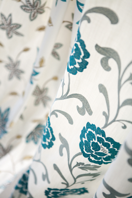 Fabric Janina of Fuggerhaus Spring Collection 2015.