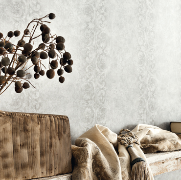 Detail image of Fuggerhaus wallcovering Due Corde which is part of the collection Ensemble.