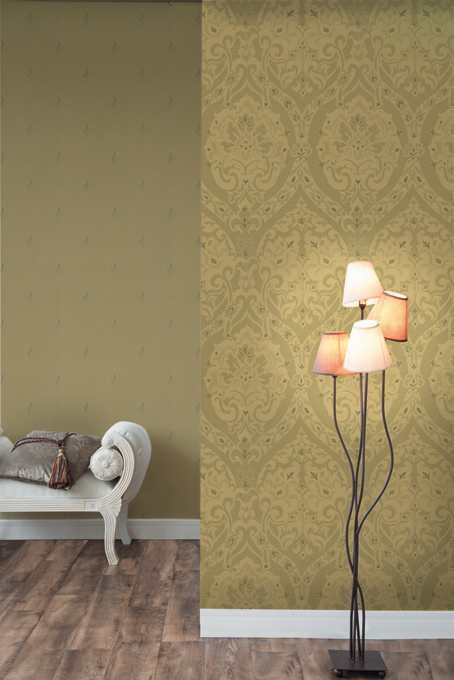 Fuggerhaus wallcoverings Palazzo and Lilia which are part of the collection Palazzo d'oro.