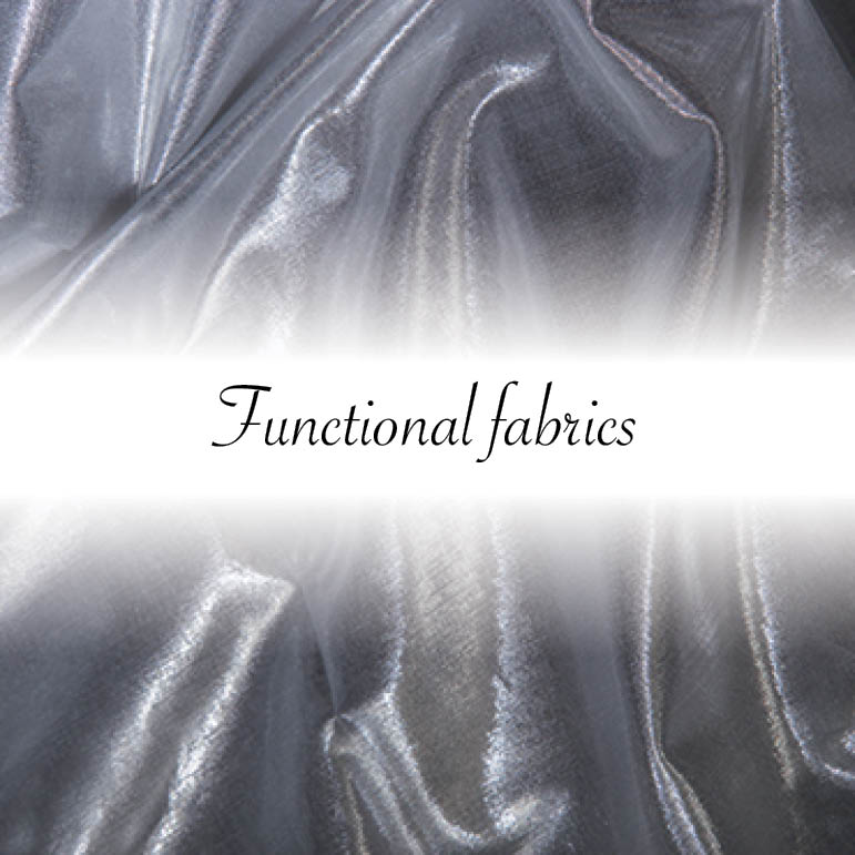 Functional fabrics by Indes Fuggerhaus