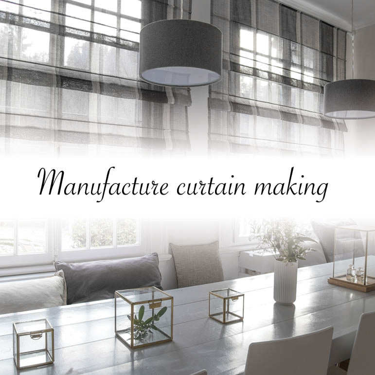 Textile know how: Manufacture curtain making
