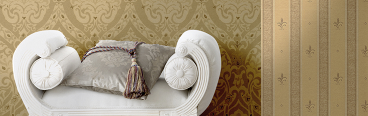 Fuggerhaus Wallcoverings collection Palazzo d'oro