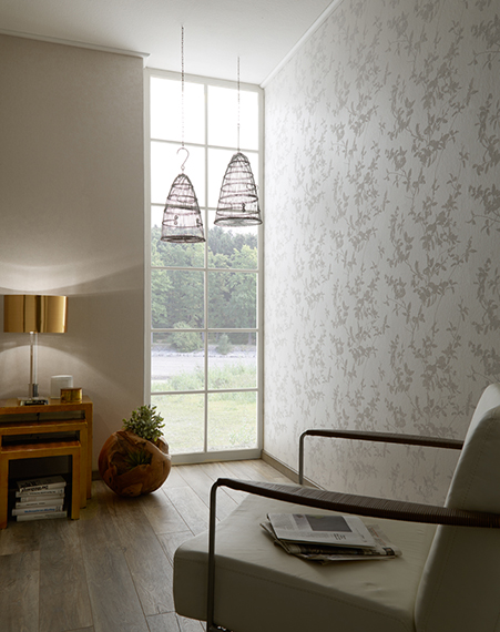 Fuggerhaus wallcoverings Vivida and Phokas which are part of the collection Secret Garden.
